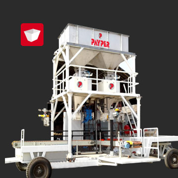 Transportable Bagging machine system india